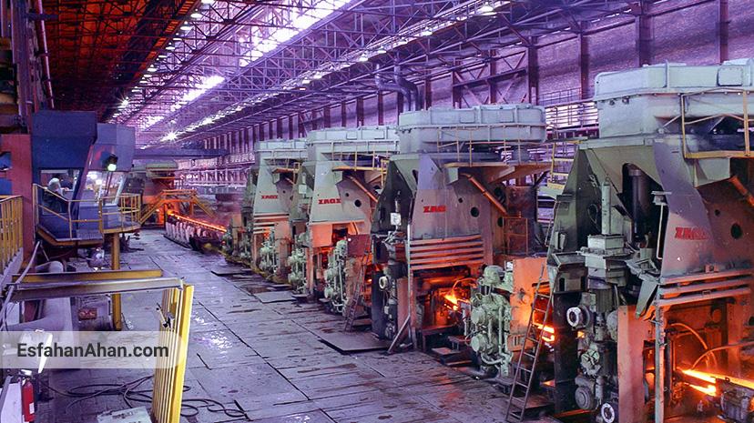 کارگاه نورد 500 کارخانه ذوب آهن اصفهان