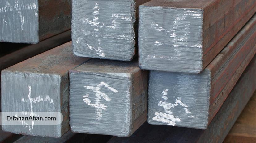 وزن شمش فولاد