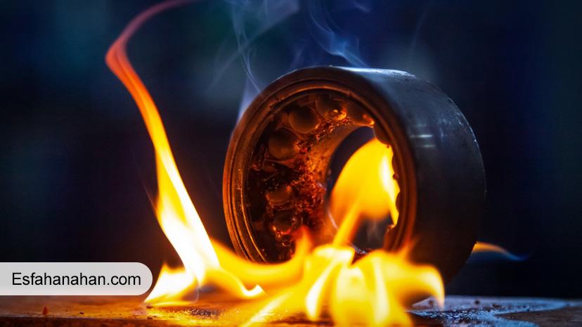 سوختن-فلز